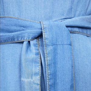 Zara Dresses - NWT's Zara Jean Dress With BackOut Slit Medium